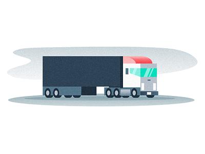 Land Sea Air Spot Illustrations 2021 transportation logistics web minimal illustration design branding