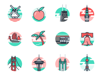 Location Icons For Flexport