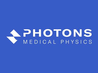 Photons Medical Physics Logo vector logo flat illustration design branding