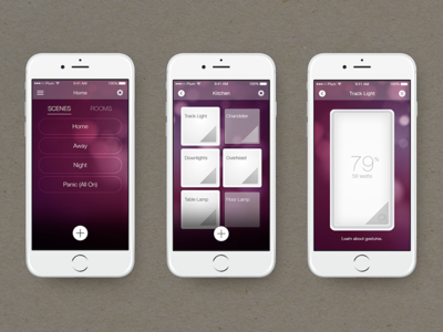 Plum Is An IoT Company Here In Austin. They Manufacture Wifi Connected  Lightpads That Replace Standard Home Light Switches. With The App You Can  Schedule ...