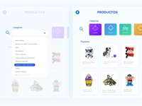 Hasbro productos ipad products product design uxdesign category app selector toys webdesign minimal ui design ui design