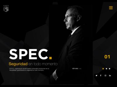 Spec Homepage