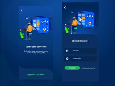 Login Sellcom App