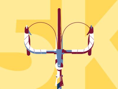 Bicycle Wallpaper + 5K! illustration bicycle minimal vector bike retro wallpaper free iphone macbook design summer