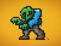 Dead Pixels - Drawlloween #21