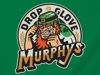 Drop Glove Murphys Hockey Logo