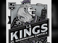 LA Kings Giveaway Poster