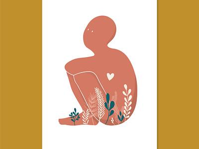 Love love plants illustration
