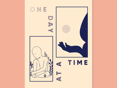 One Day At A Time dreaming lockdown illustration