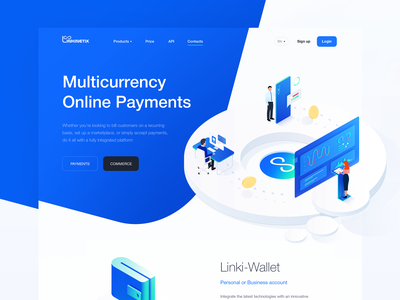 Linkinetix trading decentralized crypto webpage illustration vector mine web logodesign landing graphicdesigner bitcoin logo ui blockchain capital graphicdesign branding design