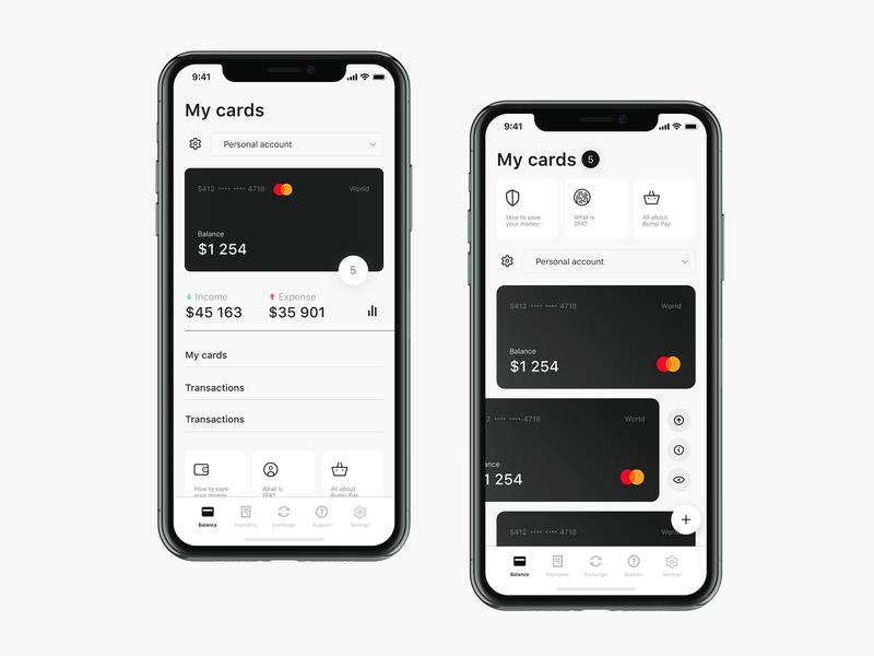 Banking App vector capital bank app bank master card ux card payment pay bitcoin app ui app  design