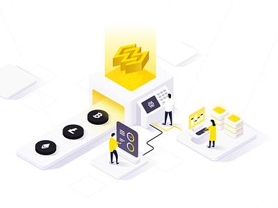 Wattum illustraor logodesign logo web illustration payment crypto blockchain branding capital design graphicdesign graphicdesigner mine decentralized bitcoin trading