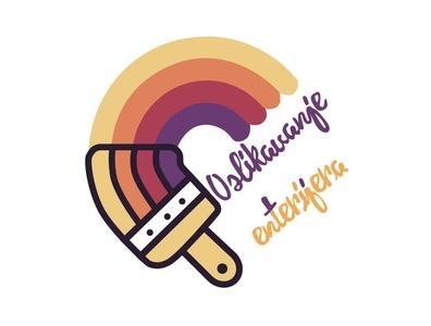 Oslikavanje Enterijera branding logo illustration art graphic design design illustration