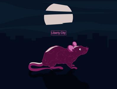 Liberty City illustration art graphic design design illustration