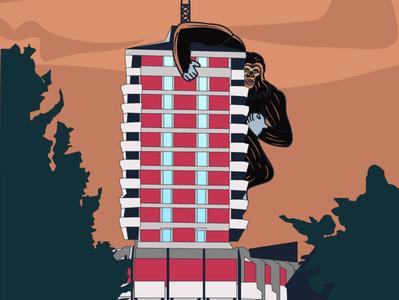 Šabac Downtown illustration art graphic design design illustration