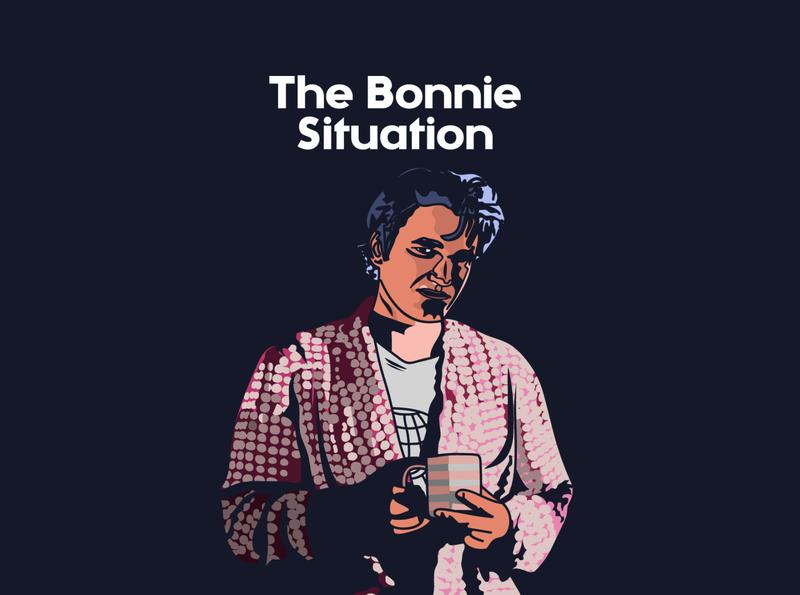 The Bonnie Situation illustration art graphic design design illustration