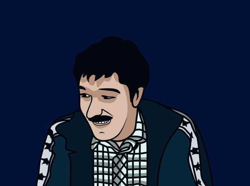 Mustafa Halimić Mute illustration art graphic design design illustration