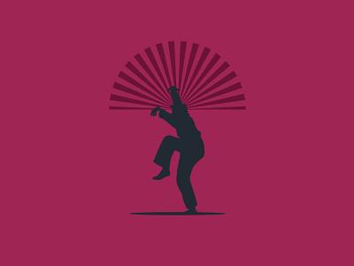 karate kid graphic design design illustration
