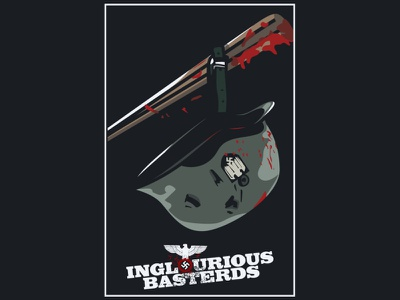 inglorious basterds graphic design design illustration