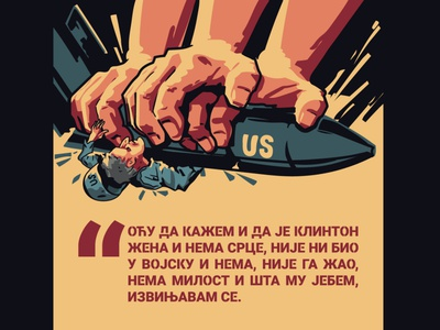 powerful propaganda graphic design design illustration