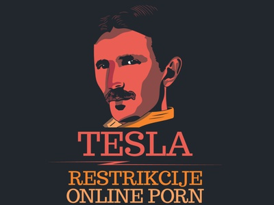 tesla graphic design design illustration