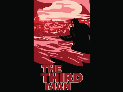 the third man graphic design design illustration