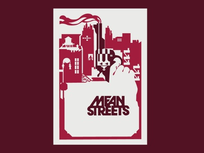 mean street graphic design design illustration