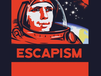 Escapism graphic design design illustration