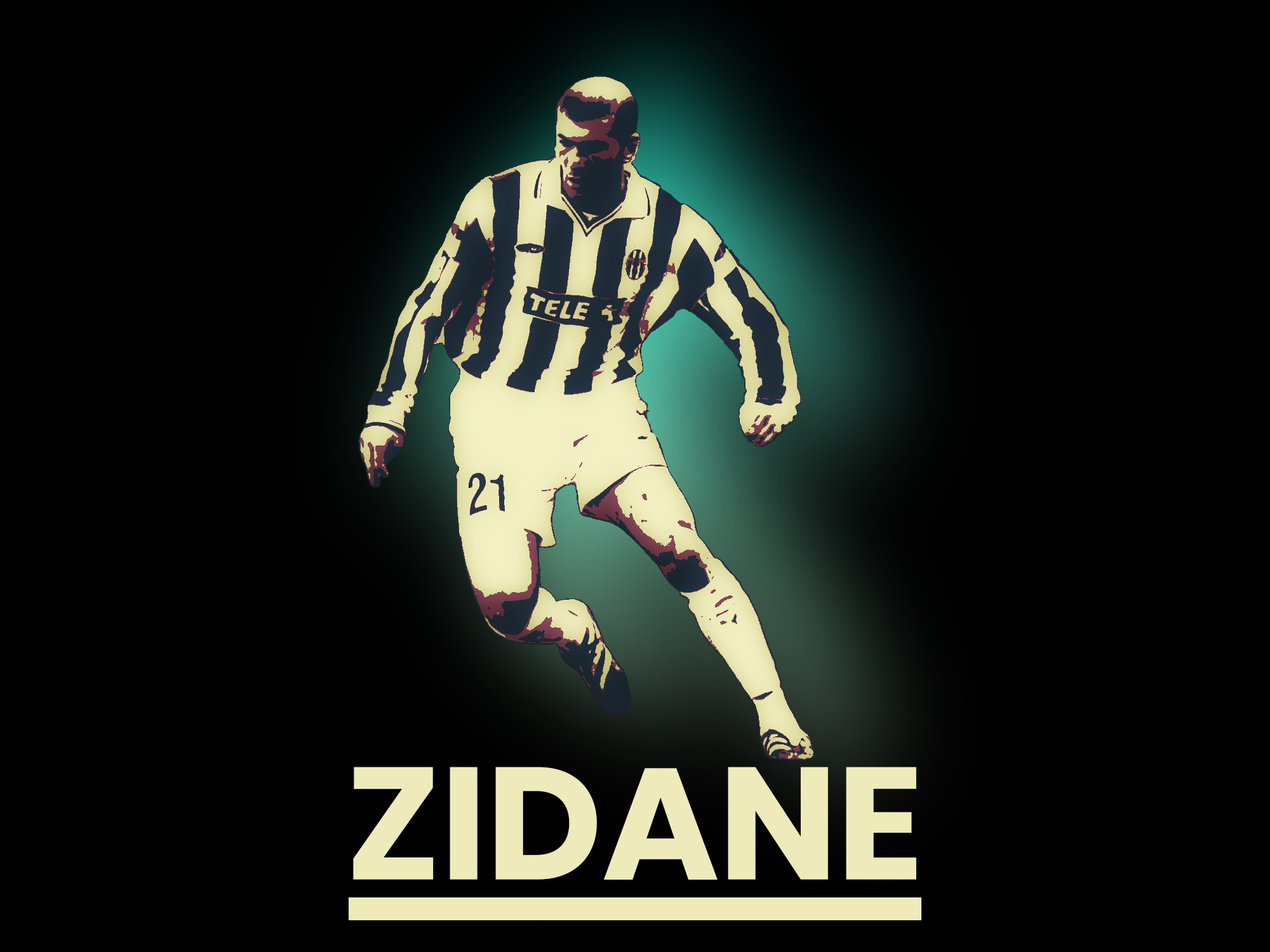 reputable site 88845 4dc64 Zinedine Zidane - Juventus by Nikola Sekić on Dribbble