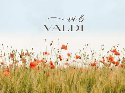 Vi & Valdi - choir logo