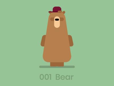 Dooodle 001 - Bear