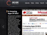 Microsite Homepage