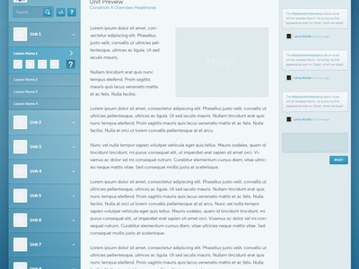 UI Design - Presentation Review Comments ui design web design