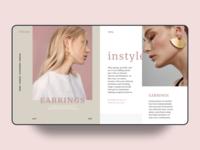 jewelry design web UI