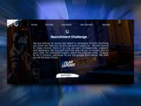 Team Chronic - Web concept