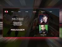NRG - Web concept