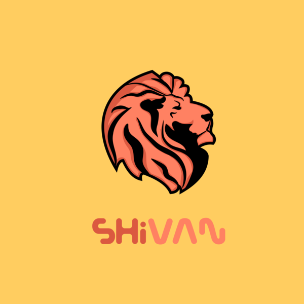 Lion invitaion design flat branding vectorart illustration art illustration vector