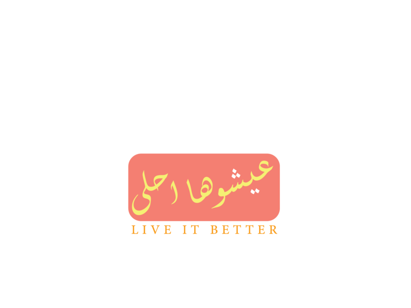 live it better love arabic logo arabic hope life