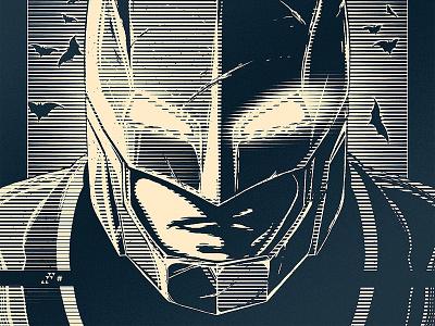 Do You Bleed? (Free Print!) print poster illustration batman v superman batman