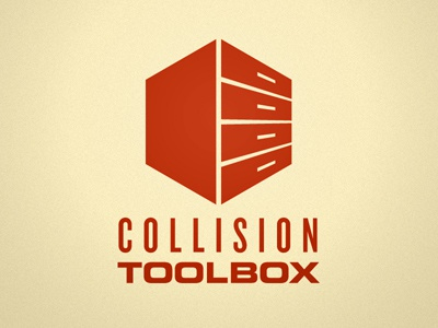 Collision Toolbox Logo toolbox designers resources tools files vectors box red logo