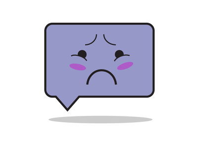 Sad Icon illustration