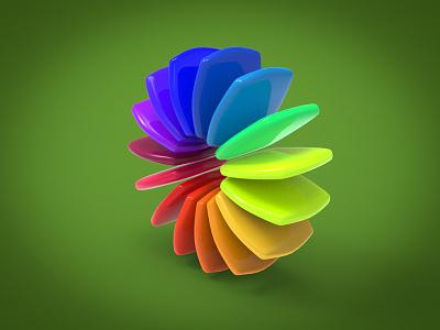 Color Wheel keyshot 3d render conceptart idea concept