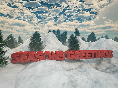 Seasons Greetings seasons greetings conceptart 3d xmas holiday christmas