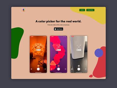 Litur Product Website ios app branding design ui