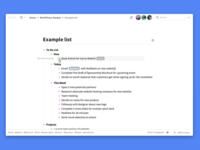 Collaborative list making with the WorkFlowy desktop app