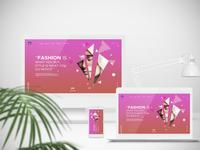 Landing Page Fashion