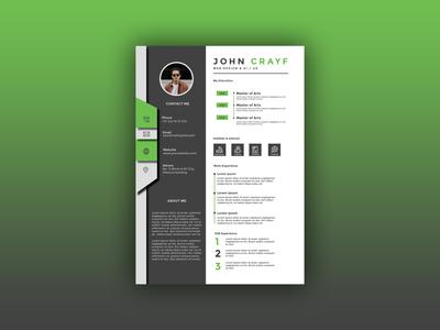 Flyer Resume