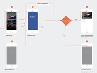 Login Process Flow