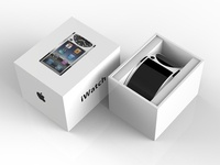 iWatch packaging design
