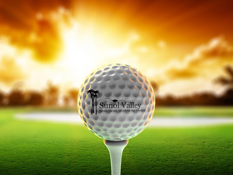 Golf ball graphic 800x600
